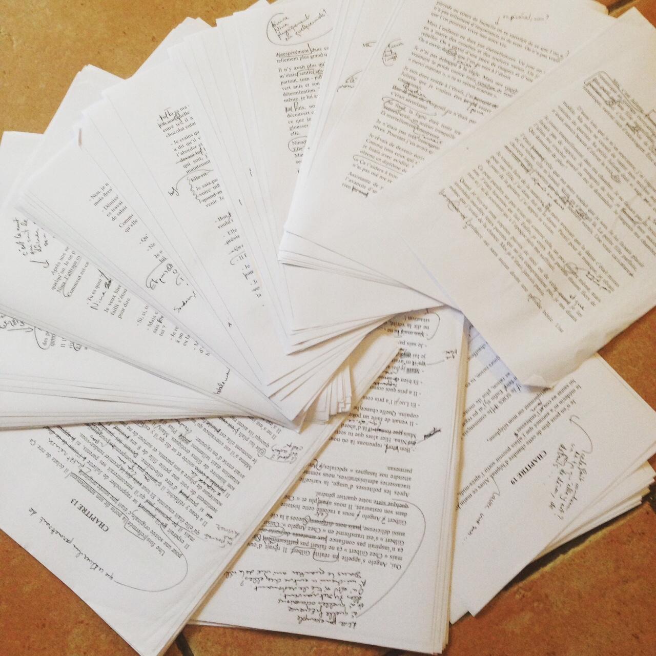 manuscrit corrigé